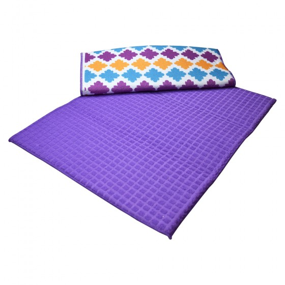 Paño Secaplatos Purple/deco